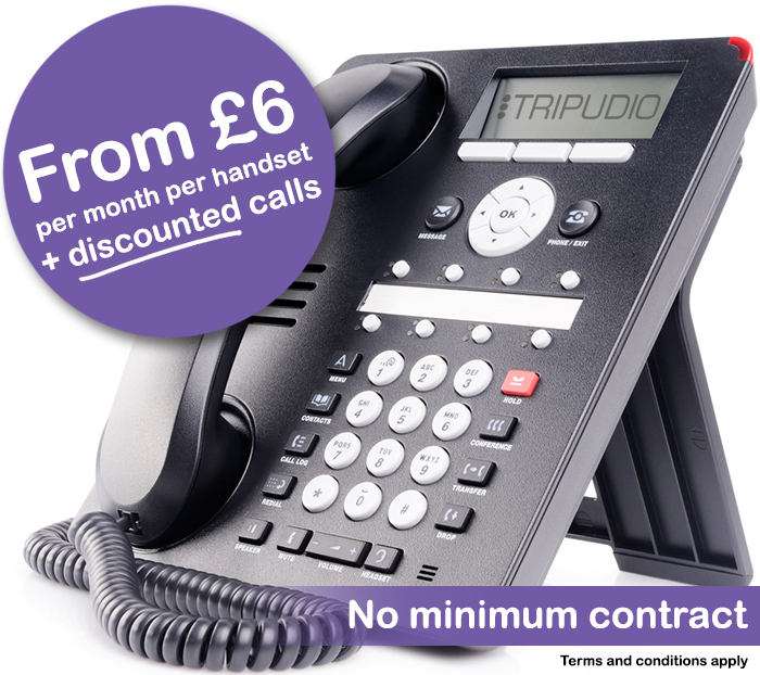 Tripudio VoIP Systems from £6 Per Month
