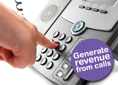 Generate revenue from calls with a Premium Rate Number