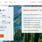Screenshot of Buymytrip.com Website